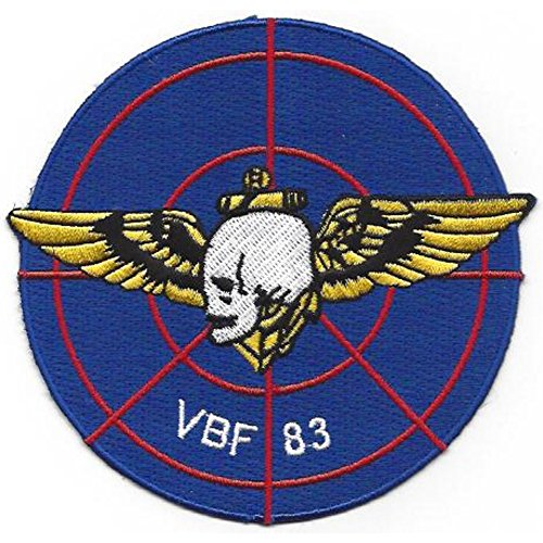 VBF-83 Patch Skull with Pilot Wings ()