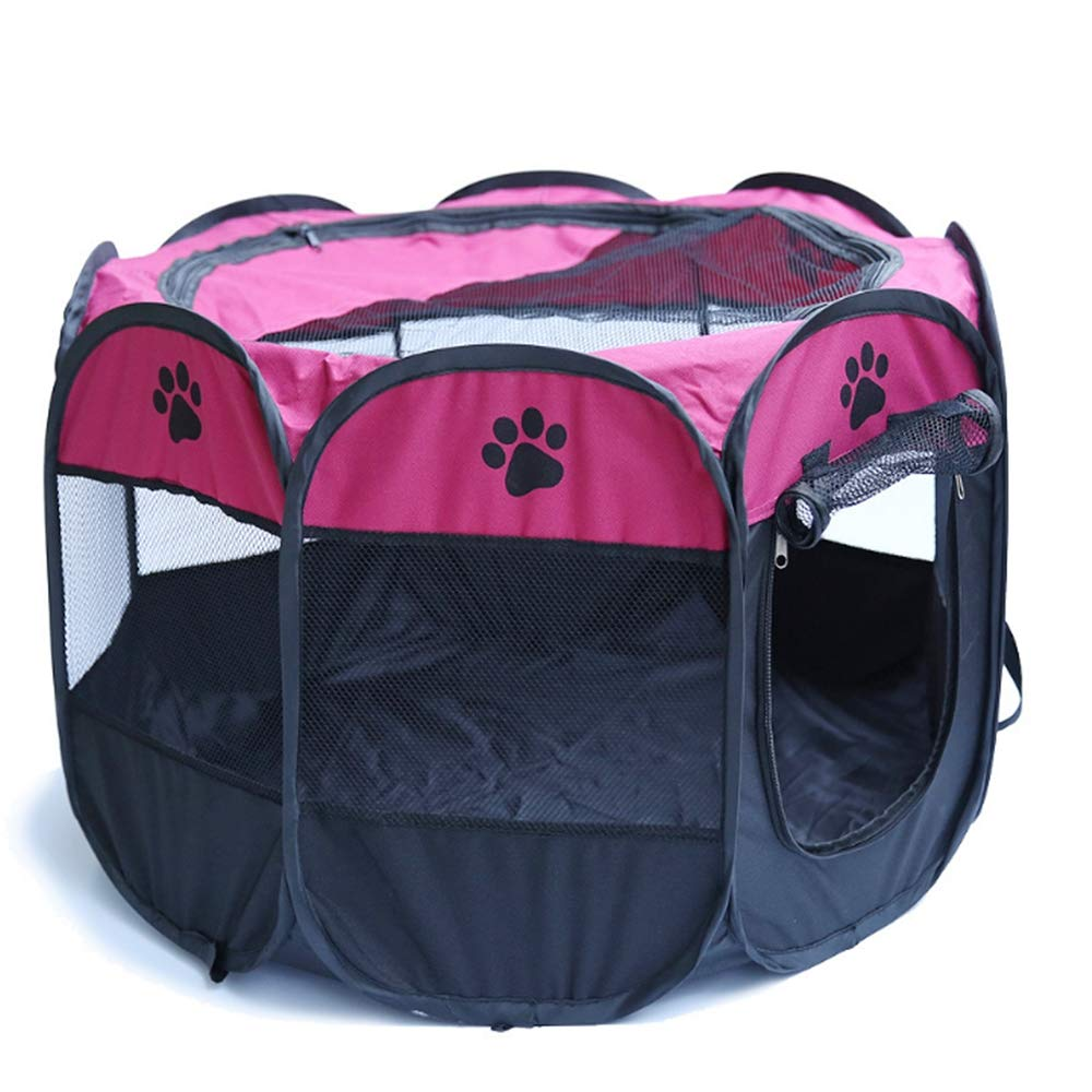 909060CM Octagonal pet Tent Fence Collapsible Portable Dog cage