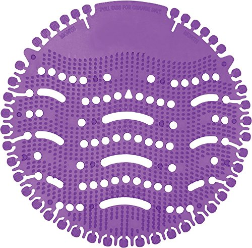Nilodor Ultra-PC Ultra Air Urinal Screen, Lavender Purple Crush (Pack of - Tabs 30 Billion