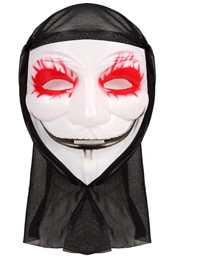 PICCOLI MONELLI Máscara Joker Joker con Capucha de Ojos Negros: Amazon.es: Juguetes y juegos
