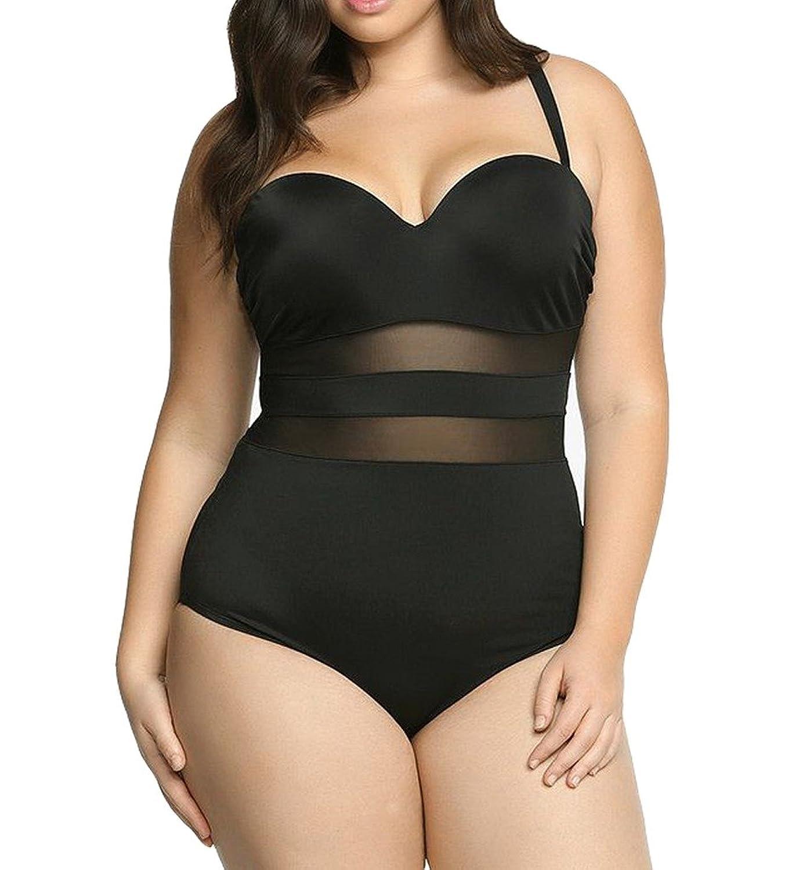 e7fff3aa69 Eternatastic Women s Summer One-Piece Monokini Swimsuit Swimwear Plus Size