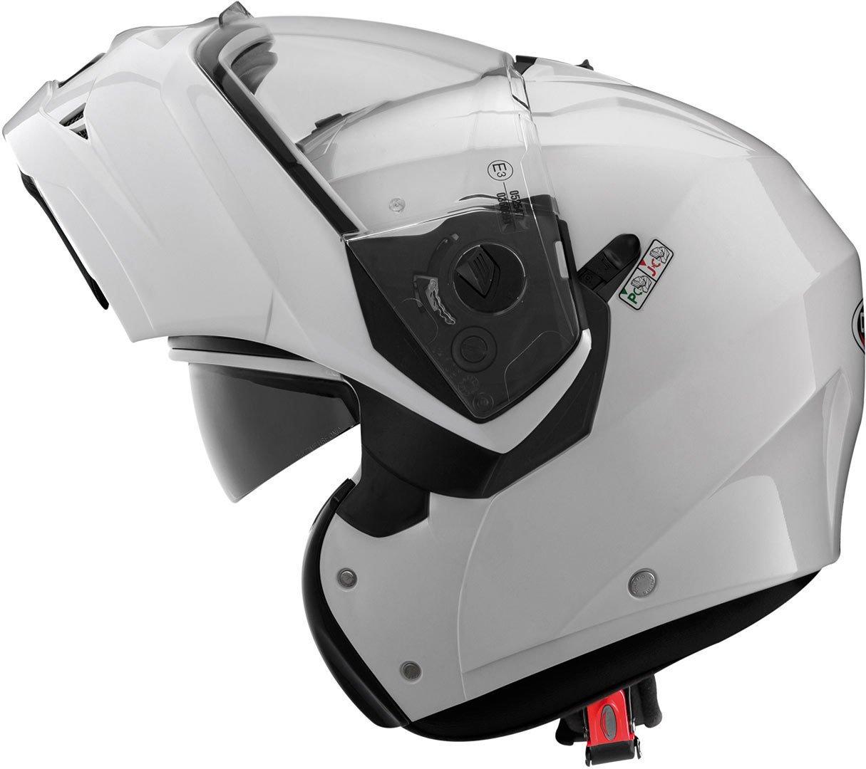 59//60 cm Caberg Klapp Helm Duke II 2 Wei/ß Metallic Motorrad Sonnenblende Pinlock Jet 2205 C0IA00A5 Gr/ö/ße L