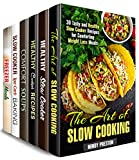 Crockpot Recipes Box Set (6 in 1) : Over 200 Best