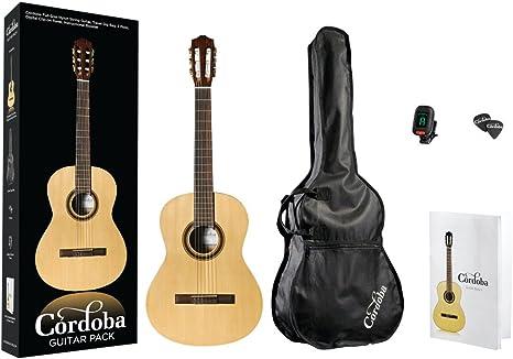 Cordoba Guitars CP100 - Guitarra clásica (tamaño 4/4), color ...