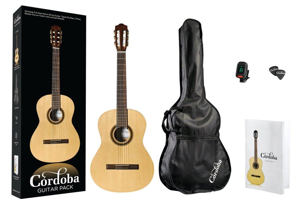 Cordoba クラシックギターセット PROTEGE シリーズ CP100 NAT   B009F8U94A
