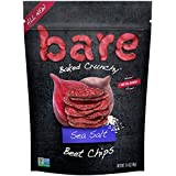 Bare Gluten Free Baked Crunchy Beet Chips, Sea Salt, 8 Count