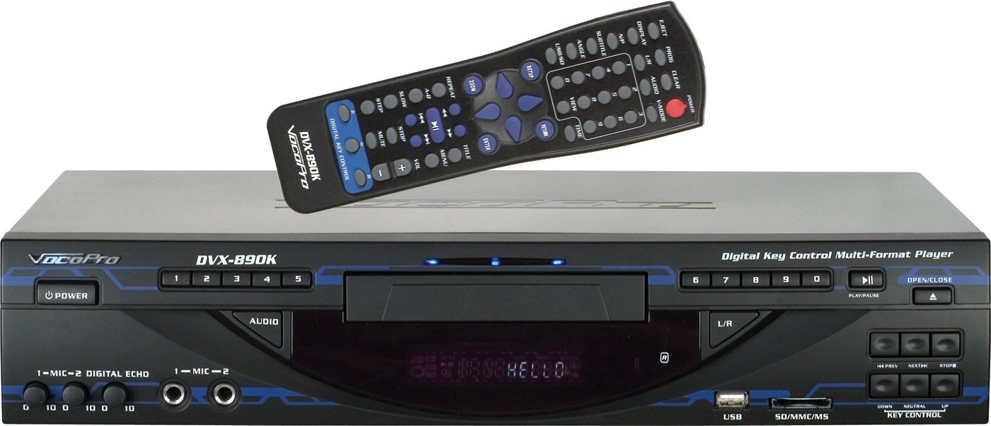 VocoPro Multi-Format Digital Player w/ USB, SD & HDMI by VocoPro