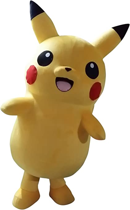 Happy Shop EU Pikachu Pokemon - Disfraz de Halloween para Adulto ...