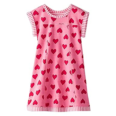 5753e7aadb VIKITA Summer Toddler Girl Clothes Casual Girls Dresses for Kids 2-8 Years  (MS0320