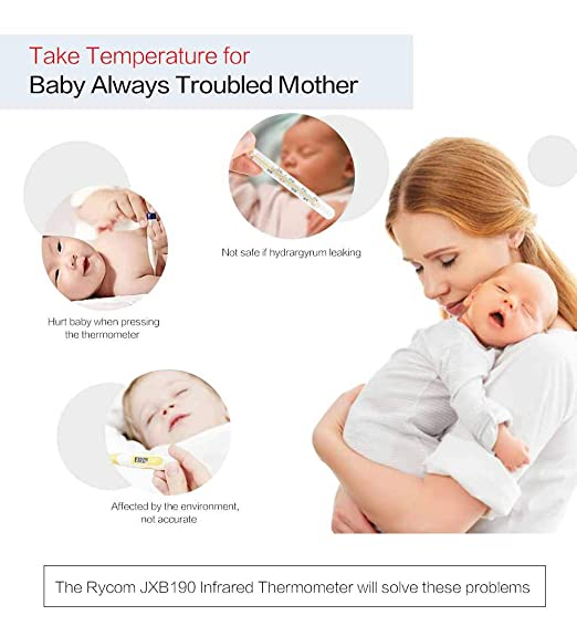Amazon.com: Termómetro de infrarrojos digital para bebés y ...