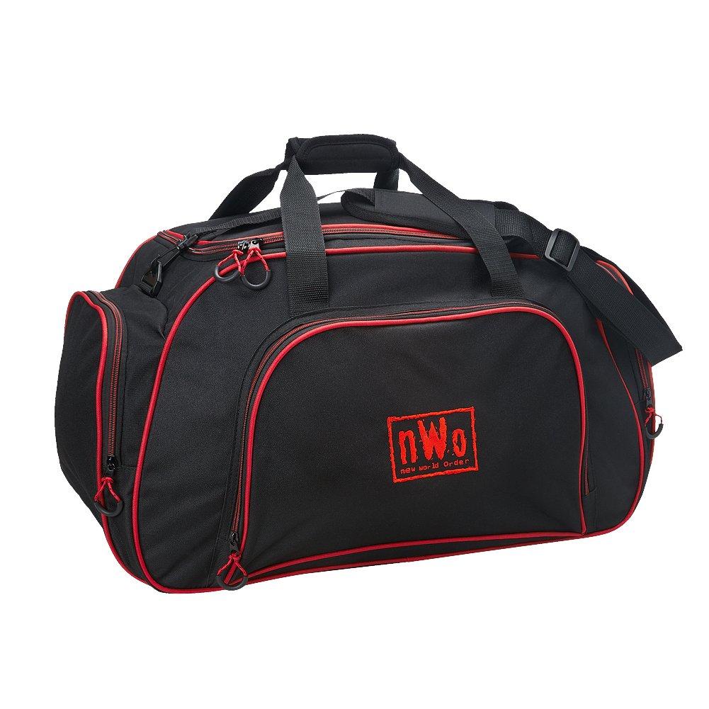 WWE nWo Wolfpac Gym Duffel Bag Black by WWE Authentic Wear