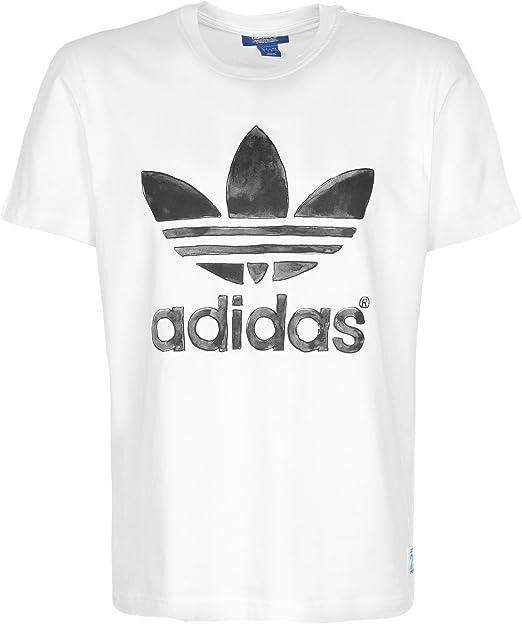adidas Originals Nigo Logo - Camiseta - Camiseta de Weiß XX-Large: Amazon.es: Ropa y accesorios
