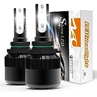 2-Pks. NAO 9006(HB4) 60W 6400LM 6500K LED Headlights Conversion Kit for Car