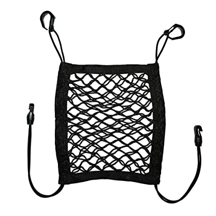 Amazon Com Hlcxya Dog Barrier With Storage Net For Back Seat
