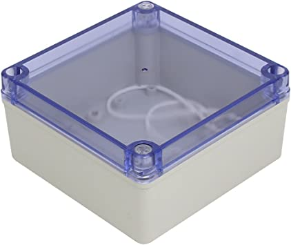 Aexit 150mmx150mmx76mm ABS a prueba de polvo IP65 Caja de ...