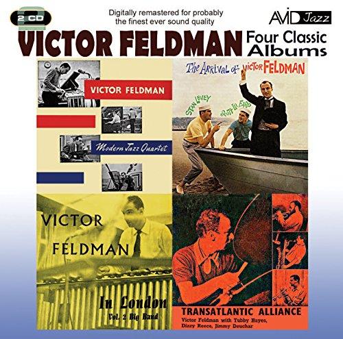 4 Classic Albums   Victor Feldman Transatlantic Alliance   Modern Jazz Quartet 2