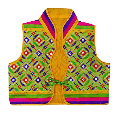 Peegli Banjara Jacket Kutch Embroidered Indian Women Ethnic Shrug Koti Choli ()