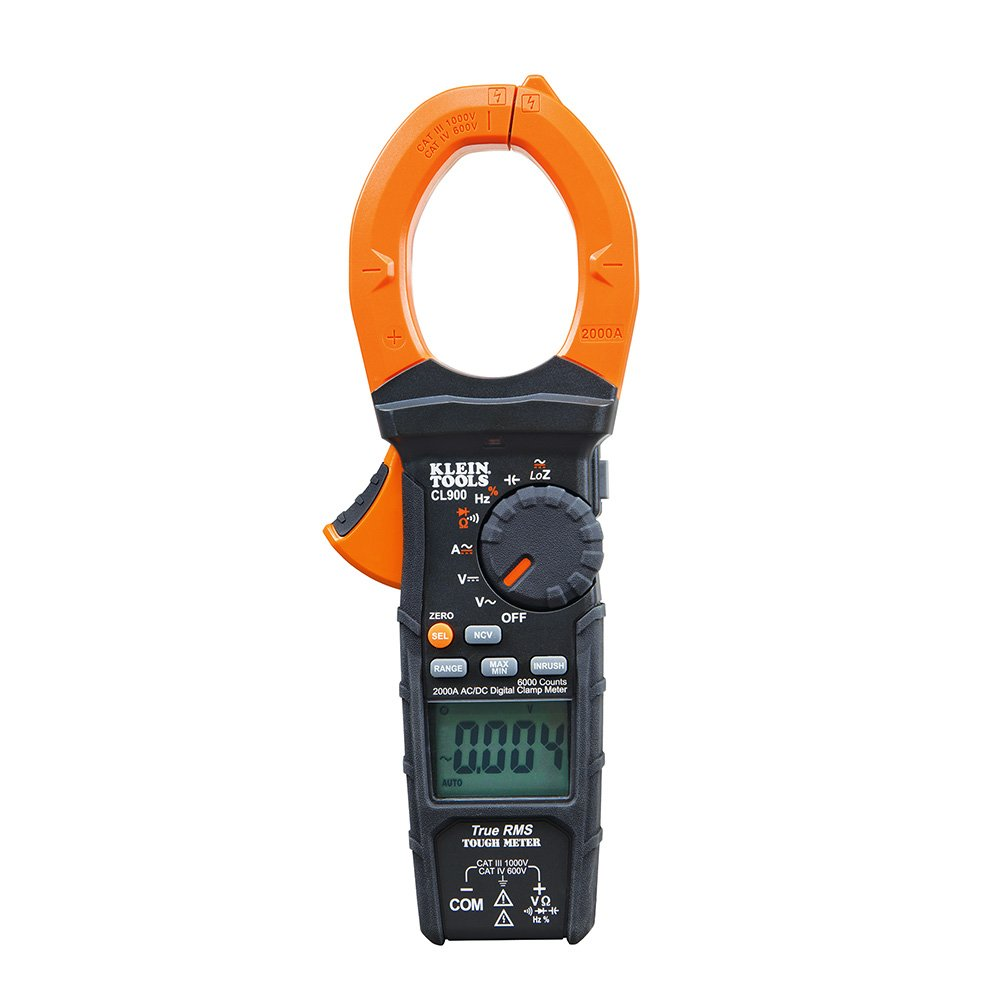 Klein Tools CL900 2000A Digital Clamp Meter