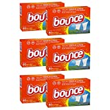 Bounce Fabric Softener Sheets, Outdoor Fresh, 80 Count (Pack of 6)