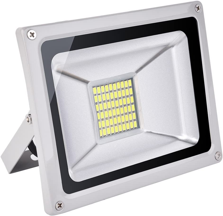 CSHITO Foco LED 30W, 2100 lm, Iluminación interior exterior, Impermeable IP65, Foco proyector LED, Blanco frío 6500K