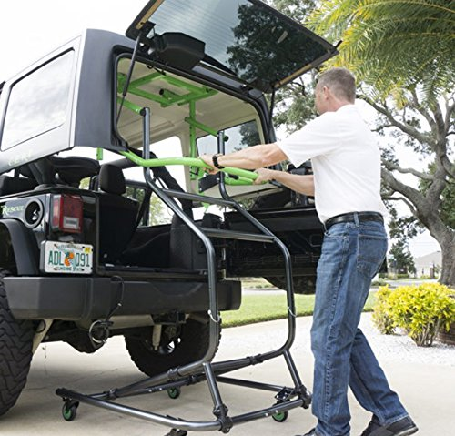 Toplift Pros Jeep Hardtop Remove And Storage Device Come