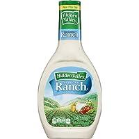 Hidden Valley Original Ranch Salad Dressing & Topping, Gluten Free - 16 Ounce Bottle...