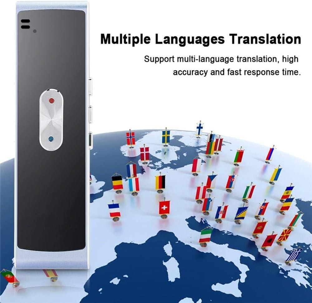 mit 40 Sprachen Instant Real Time Voice Languages Translaty Muama Enence Smart Translator,Tragbarer intelligentes bidirektionales Echtzeit-Sprach/übersetzer Simultandolmetscher-/Übersetzung Black