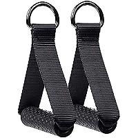 2 Stuks Weerstand Band Handvatten, Fitness Strap Handvatten, Oefening Weerstand Bands, voor Weerstand Training Yoga…
