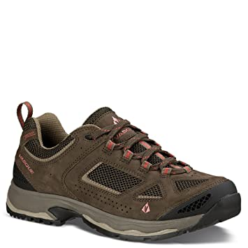 Vasque Men's Breeze III Low GTX Hiking Shoes Brown Olive / Bungee Cord ...
