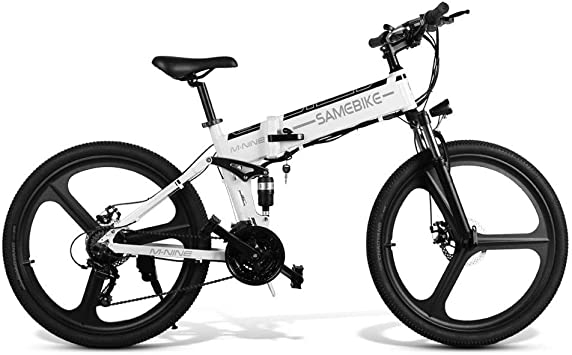 LJPW MTB Bicicleta de montaña 48 V batería de Litio Adulto ...