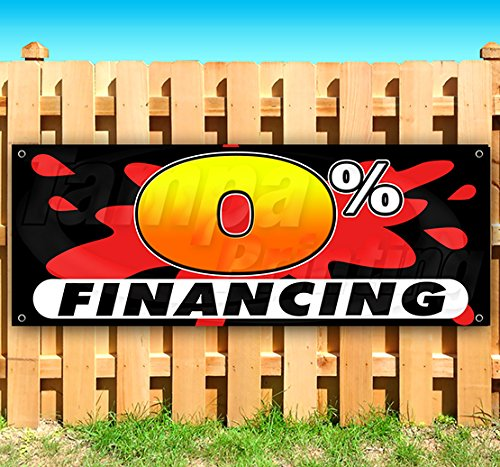 0% FINANCING 13 oz Heavy Duty Vinyl Banner Sign with Metal Grommets, New, Store, Advertising, Flag, (Many Sizes Available) by Tampa Printing