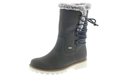 Rieker Damen Stiefel K7483,45 grau 575536: : Schuhe