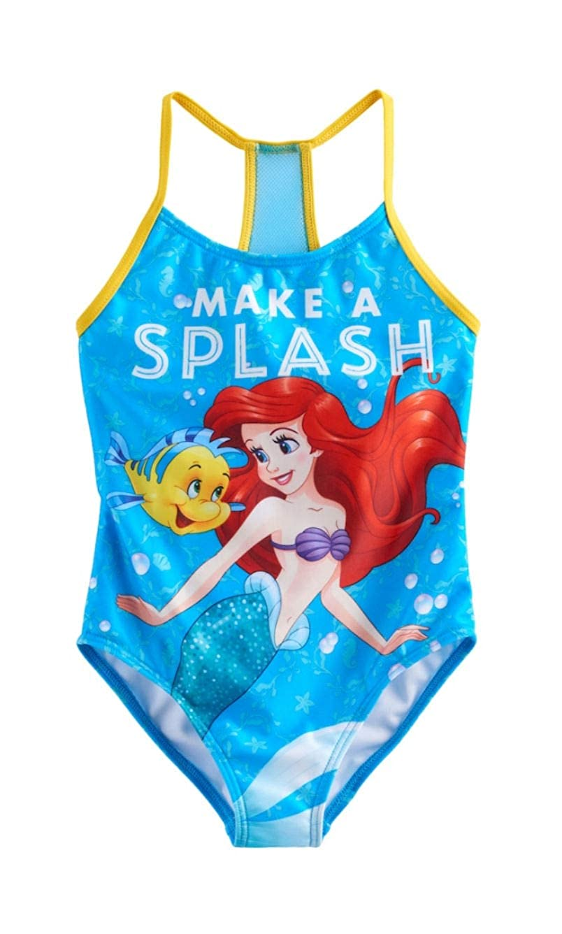 Disney Girls Character Printed One-Piece Swimsuit