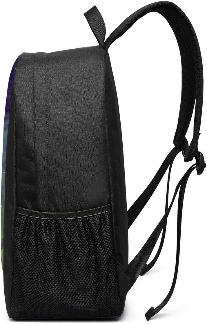 Backpack 17 Inch Starry Sky Kakashi Large Laptop Bag Travel Hiking Daypack For Men Women School Work