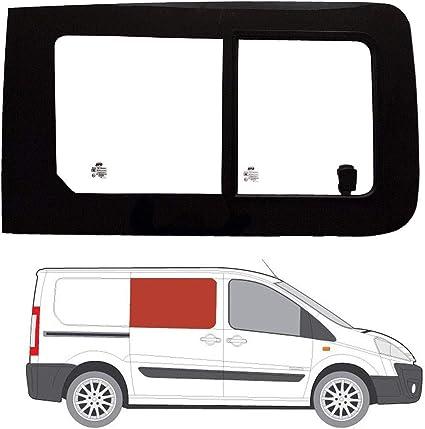 Mano derecha ventana de apertura transparente para Panel lateral OPP. Puerta Corredera Fiat Scudo (2007 – 2016): Amazon.es: Coche y moto