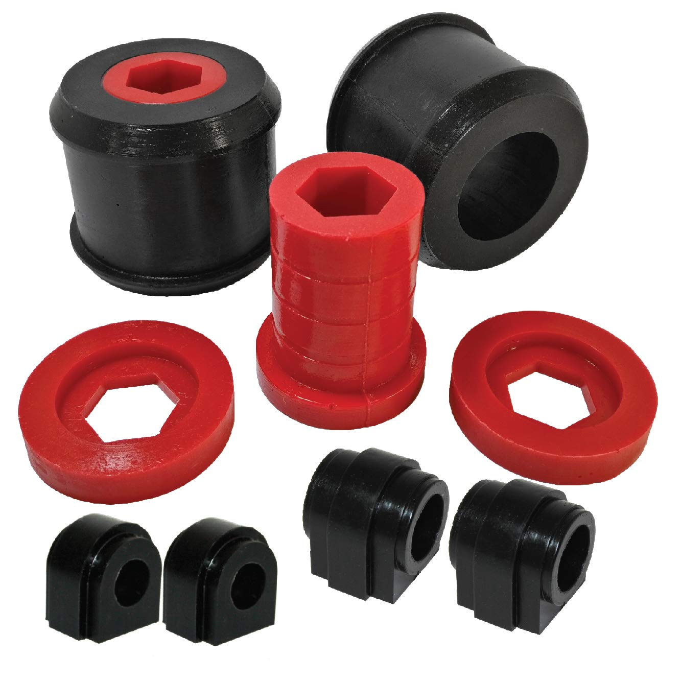 PSB Boccole in poliuretano R50//R53 PSB640//641-16//643-22.5 Anteriore e Anteriore 22,5 mm//Posteriore 16 mm Anti Roll Bar Boccola 00-06