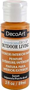 Deco Art Adol2-08 Americana Decor Outdoor Living 2oz-Sunset