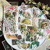 60PCS Fable Washi Decals for Decoration, Doraking