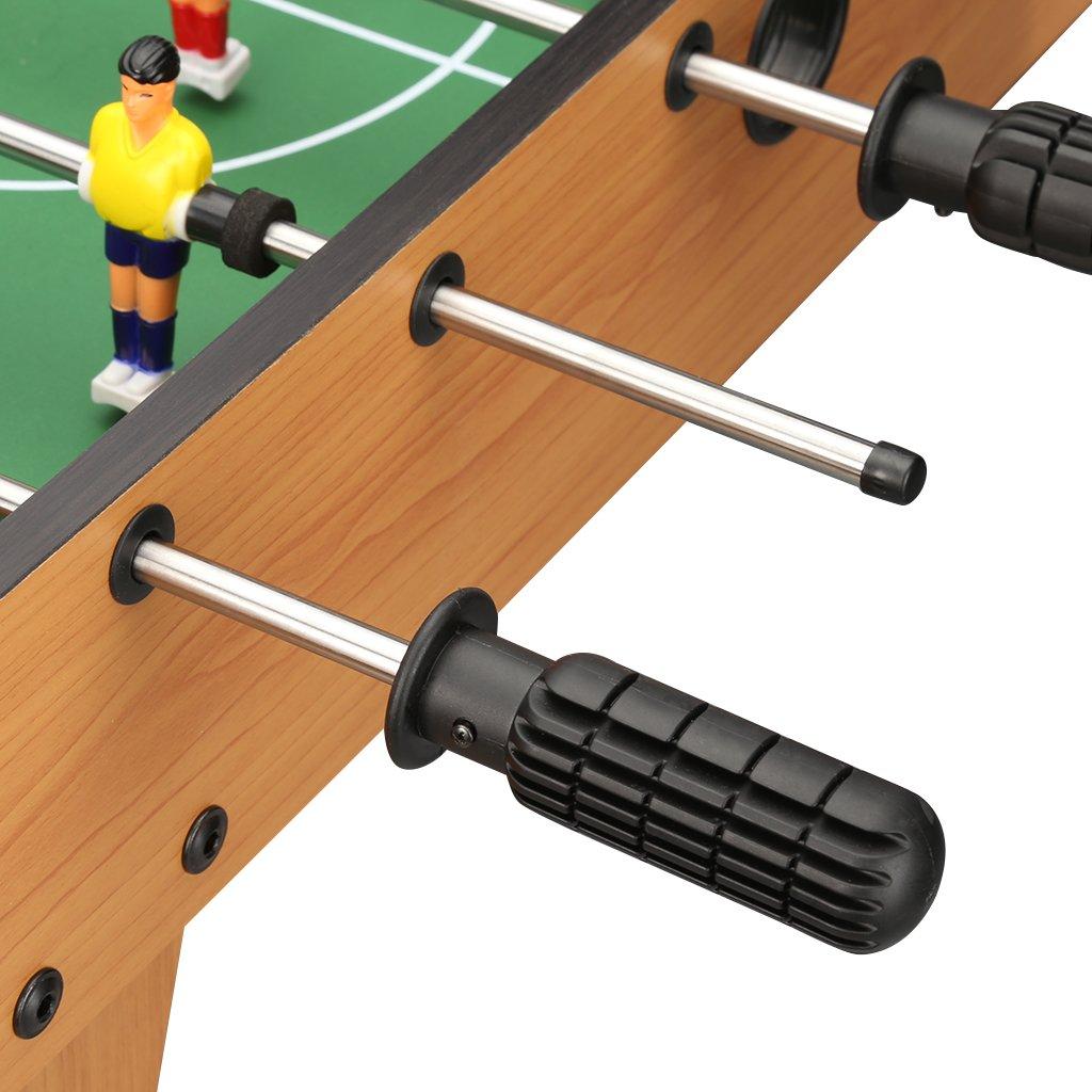 28,5 Virhuck Baby-Foot Mimi Table Football Jeu Int/érieur et Ext/érieur 48,5 8,4 cm pour Enfants Adolescents Adults Cadeau Anniversaire