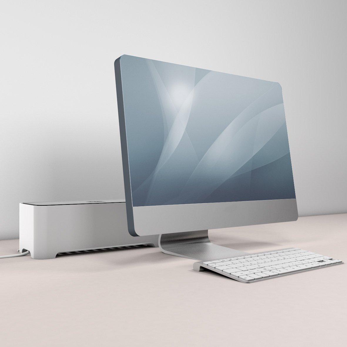 Amazon.com: E-BOX – Power Cable Box for Desk & TV & Computer | Cable ...