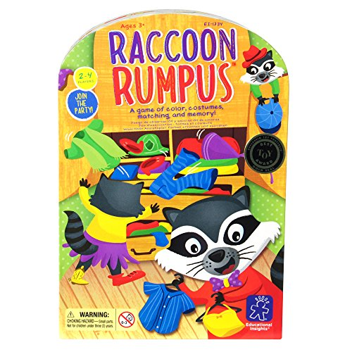 Raccoon Rumpus Game