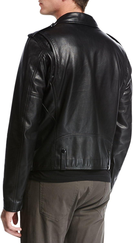 LeatherExotica Designer Style Rider Biker Motorcycle Men Leather Jacket ML-7