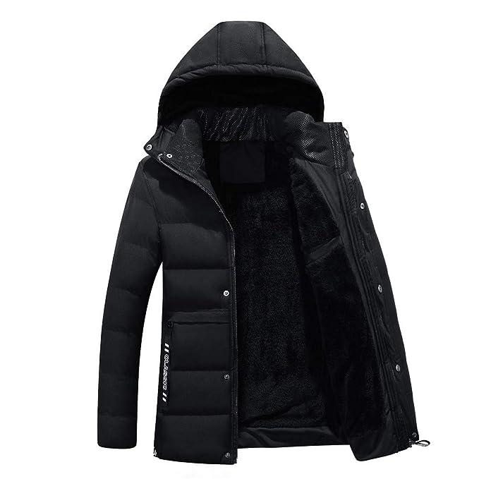 Amazon.com: Winter Jacket Men Warm Coat Sportswear Outwear Winter Parka Chaquetas Plumas Hombre Men Coats Duck D: Clothing