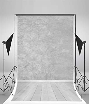 Grey and White 6x8 FT Backdrop Photographers,Futuristic Pattern with Small Grey Squares and Optical Effect Background for Photography Kids Adult Photo Booth Video Shoot Vinyl Studio Props