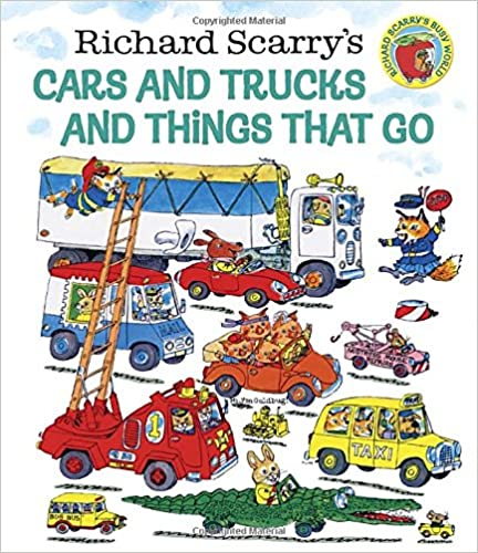 "Un cuento sobre los medios de transporte en inglés: Richard Scarry's ""Cars and trucks and things that go"""