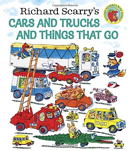 Price comparison product image Richard Scarry's Cars and Trucks and Things That Go