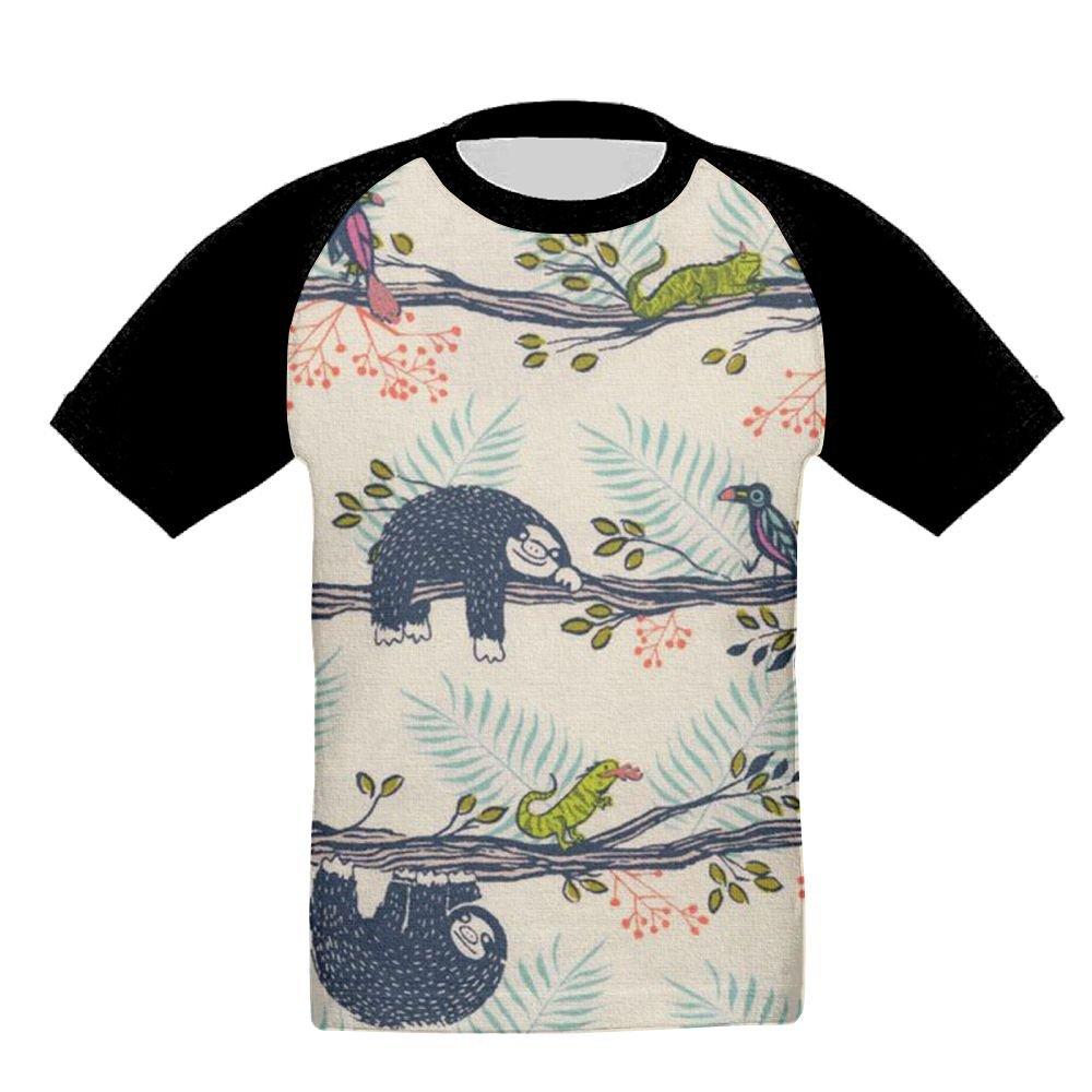 Soth Sleeping Unisex-Child T Shirt Baby Toddler Tee Round-Neck Short Sleeve Shirt