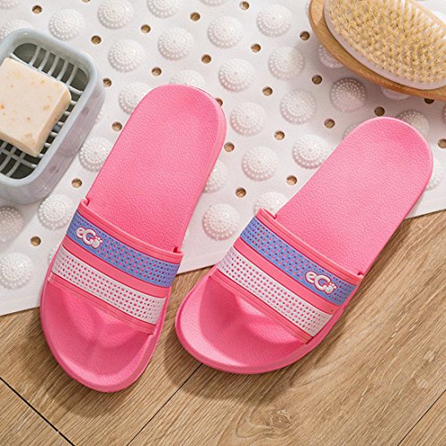 4 Unisex Shower Open Sandals Flat Slide Slip Bath Slipper HUAIDE Toe Non BwR77q