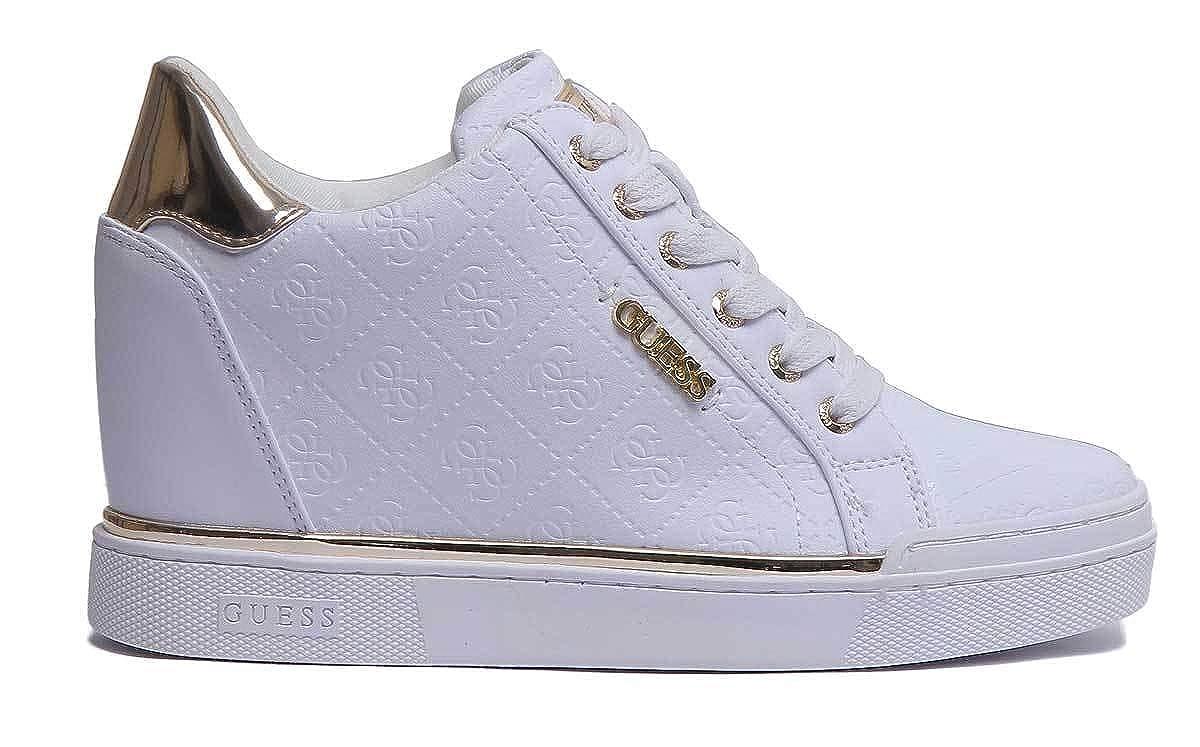 1daef063401b43 Guess Damen Flowurs Sneaker  Amazon.de  Schuhe   Handtaschen