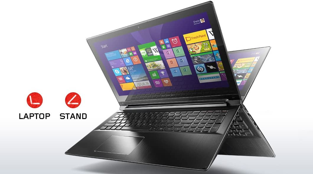 Lenovo Edge 15.6-inch Touch-Screen 2-in-1 Laptop (5th gen Intel Core i5-5200U up to 2.7 GHz, 6GB DDR3L Memory , 1TB Hard Drive, Full HD 1920 x 1080)